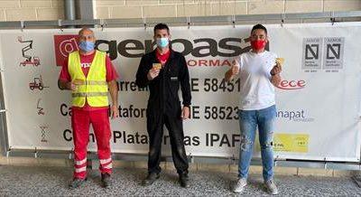 Alquiler de Plataformas Elevadoras GERPASA, apuesta por la salud de sus empleados.